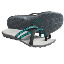 Columbia Sportswear Isla Sandals - Leather (For Women) in Geyser/Black - Closeouts