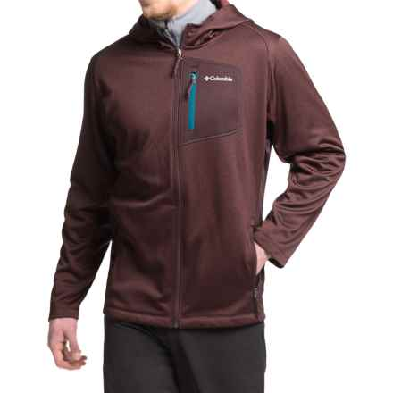 Columbia Sportswear Jackson Creek Fleece Hoodie - Full Zip (For Men) in New Cinder Heather - Closeouts