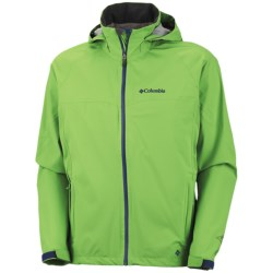 Columbia Sportswear Jet Stratus Omni-Tech® Shell Jacket - Waterproof (For Men) in Neon Green