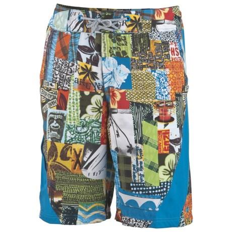 Columbia Sportswear Jollyollie Board Shorts - UPF 50 (For Men) in Light Grill