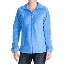Columbia Sportswear June Lake Fleece Jacket (For Women) in Harbor Blue - Closeouts