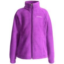 Columbia Sportswear June Lake Jacket - Fleece (For Little and Big Girls) in Foxglove - Closeouts