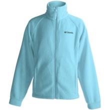Columbia Sportswear June Lake Zip Sweater - Fleece (For Girls) in Clear Blue - Closeouts