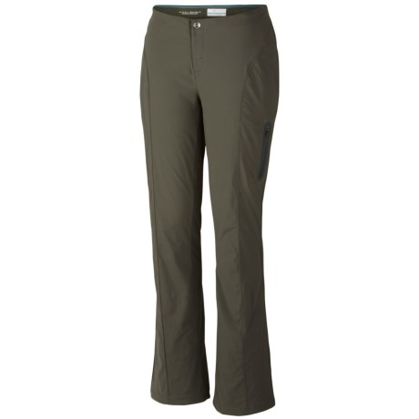 Columbia Sportswear Just Right Summiteer Lite Pants - UPF 50, Bootcut (For Women) in Gravel