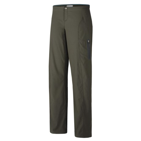 Columbia Sportswear Just Right Summiteer Lite Pants - UPF 50, Full Leg (For Women) in Black