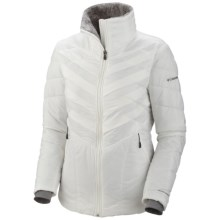 Columbia Sportswear Kaleidaslope II Jacket - Plus Size, Omni-Heat®, Insulated (For Plus Size Women) in Sea Salt - Closeouts