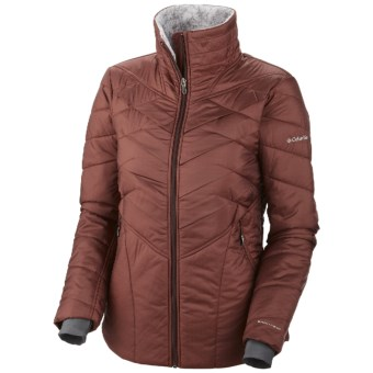 Columbia Sportswear Kaleidaslope II Omni-Heat® Jacket - Insulated (For Women) in Madder Brown