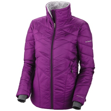 Columbia Sportswear Kaleidaslope II Omni-Heat® Jacket - Insulated (For Women) in Plum
