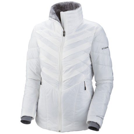 Columbia Sportswear Kaleidaslope II Omni-Heat® Jacket - Insulated (For Women) in Sea Salt
