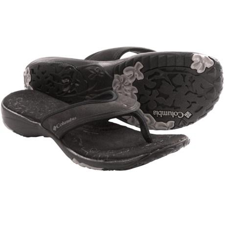 Columbia Sportswear Kambi Sandals - Thongs (For Women) in Black