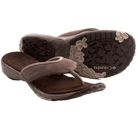 Columbia Sportswear Kambi Sandals - Thongs (For Women) in Mud