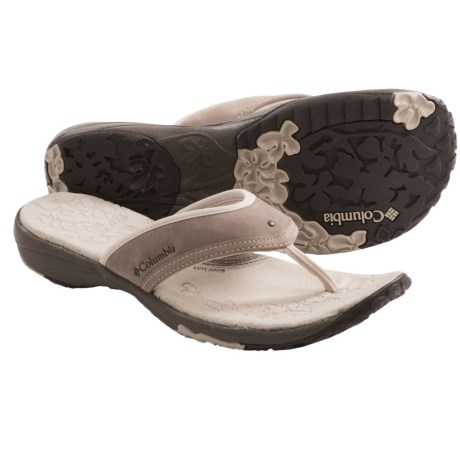 Columbia Sportswear Kambi Sandals - Thongs (For Women) in Tusk