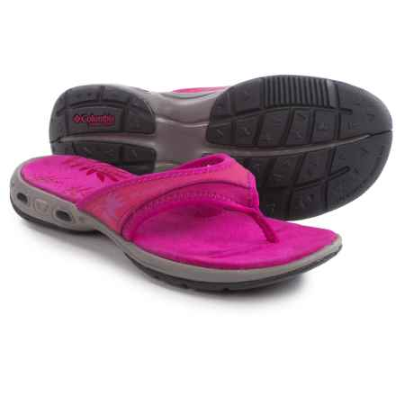 Columbia Sportswear Kambi Vent Flip Sandals (For Women) in Haute Pink/Deep Blush - Closeouts