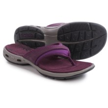Columbia Sportswear Kambi Vent Flip Sandals (For Women) in Purple Dahlia/Glory - Closeouts
