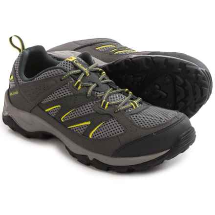 Columbia Sportswear Kenosha Low Trail Shoes (For Men) in Quarry/Gingko - Closeouts