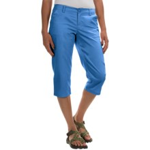 Columbia Sportswear Kenzie Cove Capris (For Women) in Harbor Blue - Closeouts
