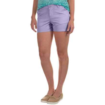 Columbia Sportswear Kenzie Cove Shorts (For Women) in Whitened Violet - Closeouts