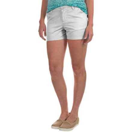 Columbia Sportswear Kenzie Cove Shorts (For Women) in White - Closeouts