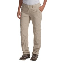Columbia Sportswear Kestrel Ridge Convertible Pants - UPF 50, Zip-Off Legs (For Women) in Fossil - Closeouts