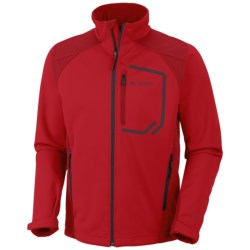 Columbia Sportswear Key Three II Omni-Heat® Jacket - Soft Shell (For Men) in Bright Red