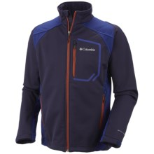 Columbia Sportswear Key Three II Omni-Heat® Jacket - Soft Shell (For Men) in Ebony Blue - Closeouts