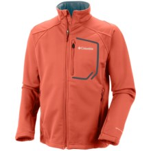 Columbia Sportswear Key Three II Omni-Heat® Soft Shell Jacket (For Men) in Cinnabar - Closeouts