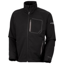 Columbia Sportswear Key Three Omni-Heat® Jacket - Soft Shell (For Men) in Black/Blade - Closeouts
