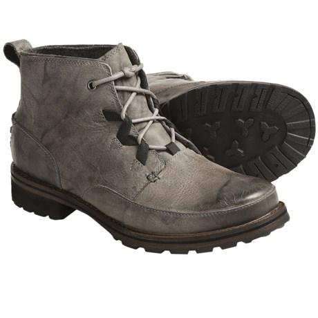Columbia Sportswear Klikitat Boots - Leather (For Men) in Moon Rock