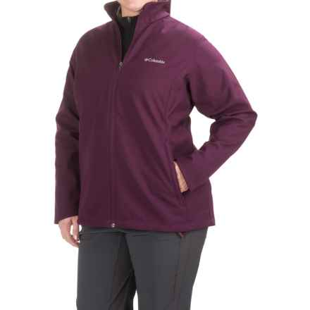 Columbia Sportswear Kruser Ridge Soft Shell Jacket (For Plus Size Women) in Purple Dahlia - Closeouts