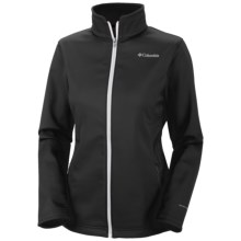 Columbia Sportswear Kruser Ridge Soft Shell Jacket (For Women) in Black/White - Closeouts