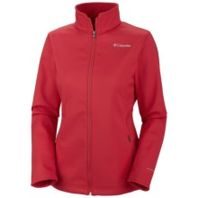 Columbia Sportswear Kruser Ridge  Soft Shell Jacket (For Women) in Burnt Henna - Closeouts
