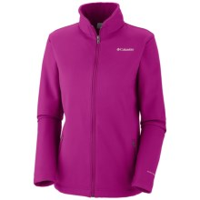 Columbia Sportswear Kruser Ridge  Soft Shell Jacket (For Women) in Deep Blush - Closeouts