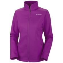 Columbia Sportswear Kruser Ridge Soft Shell Jacket (For Women) in Plum - Closeouts