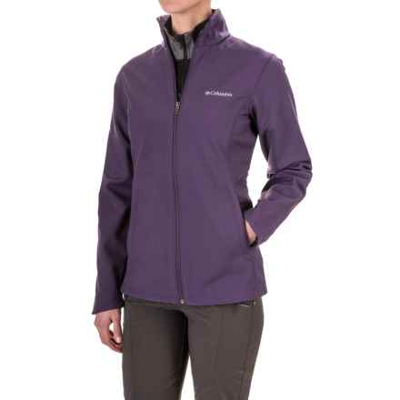 Columbia Sportswear Kruser Ridge Soft Shell Jacket (For Women) in Quill - Closeouts