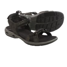 Columbia Sportswear Kyra Vent Sport Sandals - Leather (For Women) in Black/Shale - Closeouts