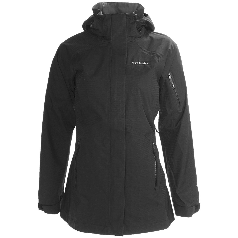 CRAFT ESCAPE RAIN waterproof jacket for women black/ruby