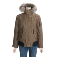 Columbia Sportswear Lafayette Street Jacket - Waterproof, Insulated, Titanium (For Women) in Cocoa - Closeouts