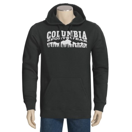 Columbia Sportswear Lake Cobb Hoodie Sweatshirt (For Men) in Black