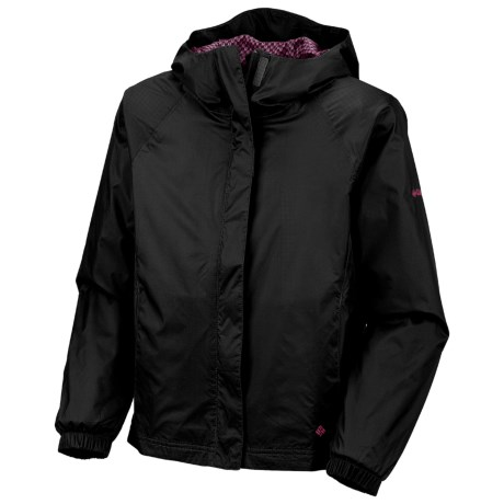 Columbia Sportswear Lake of Lace Shell Jacket (For Little Girls) in Black