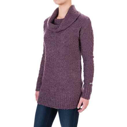 Columbia Sportswear Lake to Lodge Long Tunic Sweater - Cowl Neck (For Women) in Dusty Purple - Closeouts