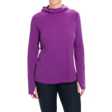 Columbia Sportswear Layer First Omni-Wick® Hoodie - UPF 40 (For Women) in Bright Plum - Closeouts