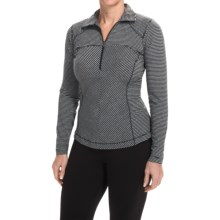 Columbia Sportswear Layer First Shirt - UPF 15, Neck Zip, Long Sleeve (For Women) in Black - Closeouts