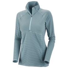 Columbia Sportswear Layer First Stripe Shirt - UPF 15, Long Sleeve (For Women) in Blue Vapor - Closeouts