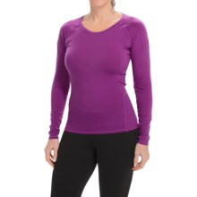 Columbia Sportswear Layer First Stripe Shirt - UPF 15, Long Sleeve (For Women) in Bright Plum Stripe - Closeouts