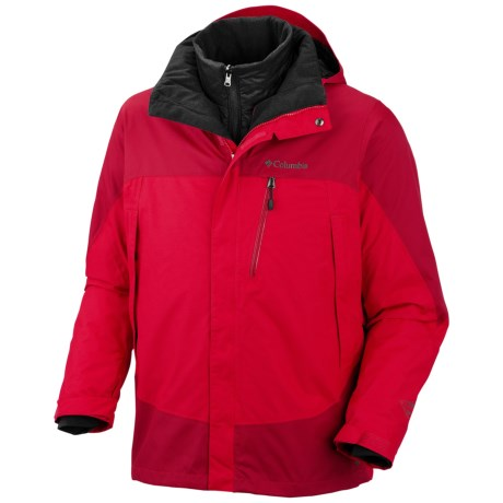 Columbia Sportswear Lhoste Mountain II Omni-Heat® Jacket - Waterproof, Insulated (For Men) in Bright Red