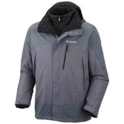 Columbia Sportswear Lhoste Mountain II Omni-Heat® Jacket - Waterproof, Insulated (For Men) in Graphite