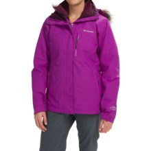 Columbia Sportswear Lhotse Interchange Omni-Heat® Snow Jacket - Waterproof, Insulated, 3-in-1 (For Women) in Bright Plum/Purple Dahlia - Closeouts
