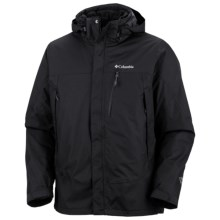 Columbia Sportswear Lhotse Mountain II Omni-Heat® Jacket - 3-in-1, Waterproof, Insulated (For Big and Tall Men) in Black - Closeouts