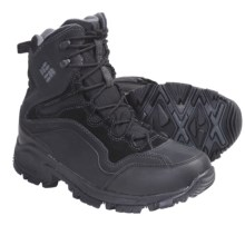 Columbia Sportswear Liftop Omni-Heat® Winter Boots - Insulated (For Men) in Black/Dark Shadow - Closeouts