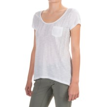 Columbia Sportswear Lines of a Feather T-Shirt - Short Sleeve (For Women) in White - Closeouts